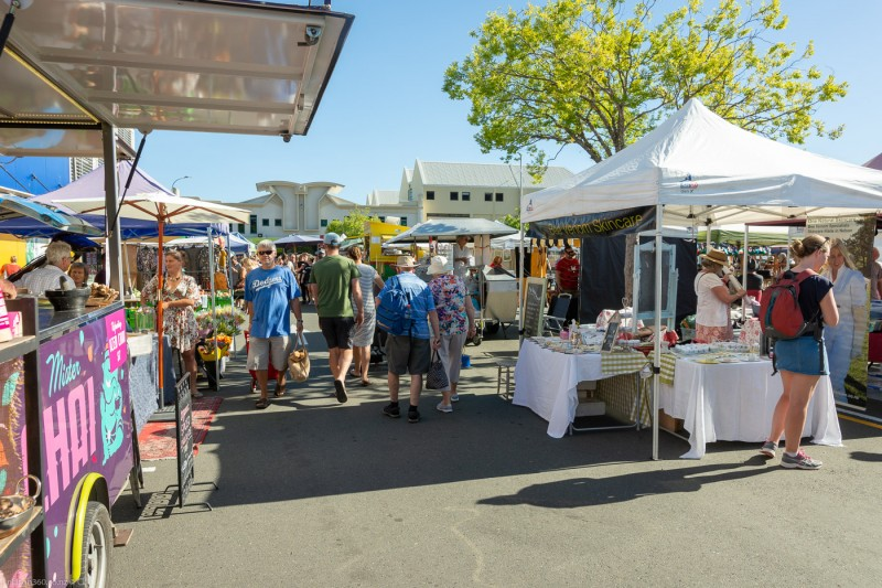Nelson Saturday Market Stalls ,