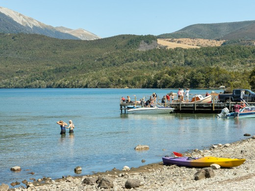 Nelson Lake Rotoiti Summer Holidays ,