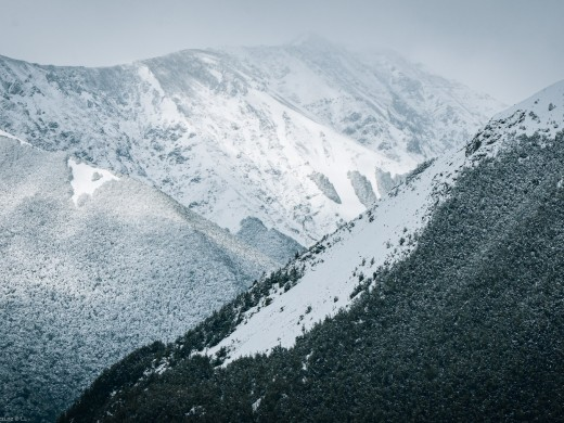 Nelson Lakes National Park Alpine Snow ,