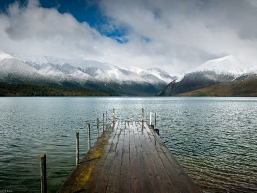 Nelson Lakes National Park Lake Rotoiti Jetty ,